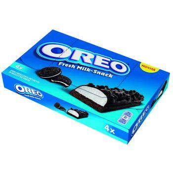 oreo milk snack