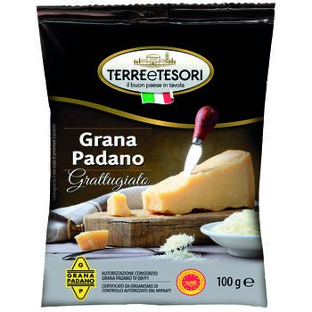 Terre & tesori grattugiato grana padano
