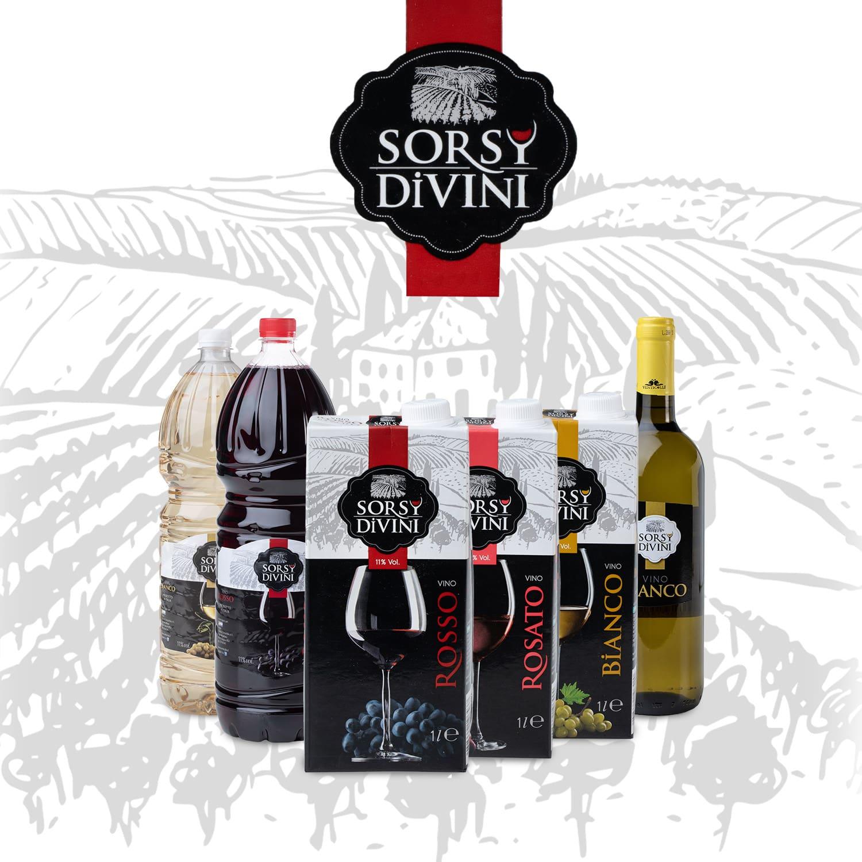 Logo Sorsy divini
