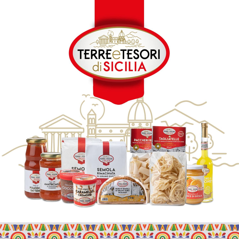 Logo Terre e Tesori di Sicilia