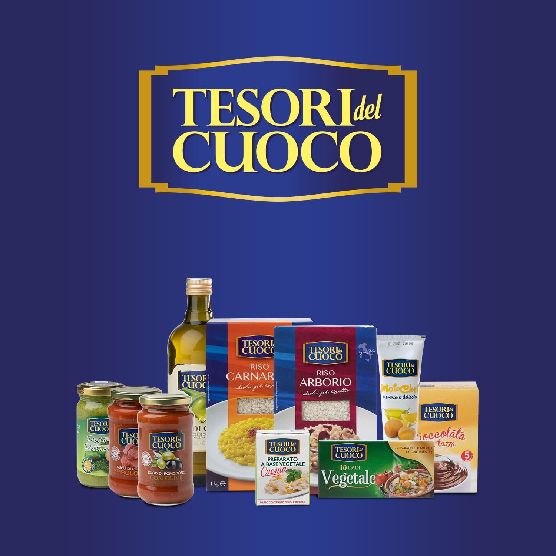 Logo Tesori del cuoco