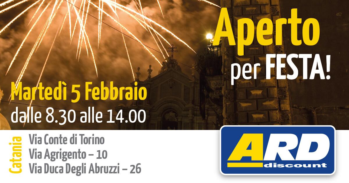 ARD Discount - Festa di S. Agata