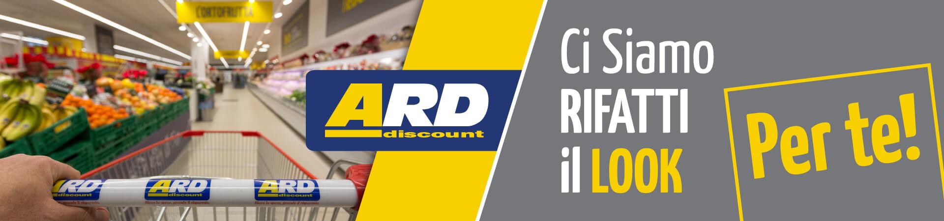 ARD Discount - Ci siamo rifatti il look per te