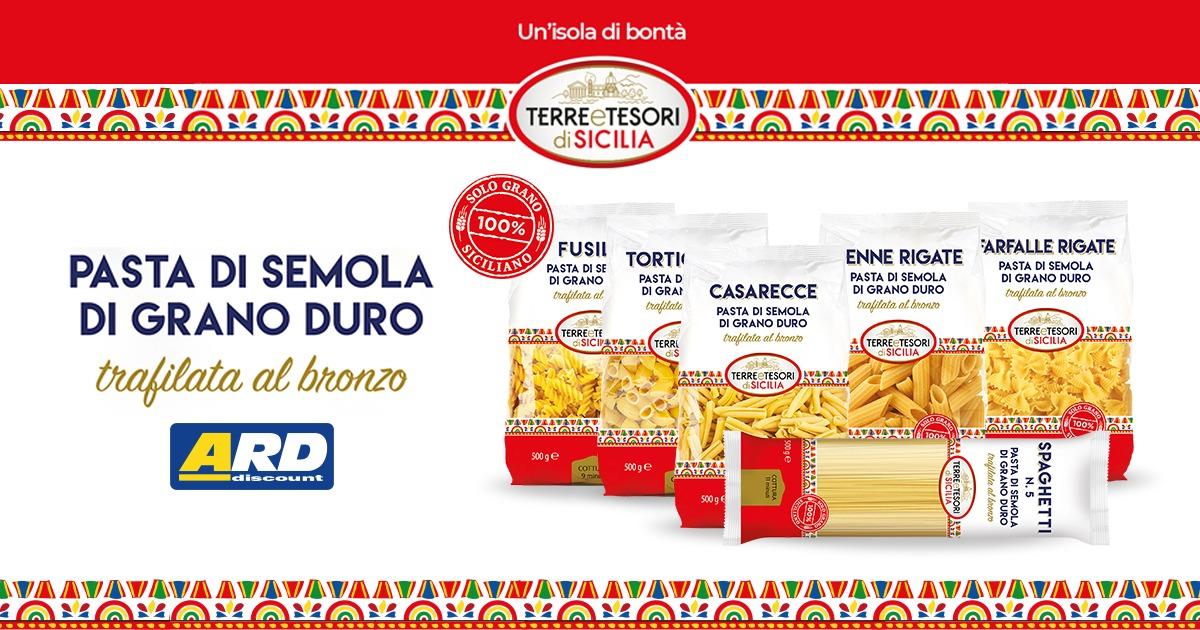 ARD Discount - Una pasta che ha la Sicilia nel cuore