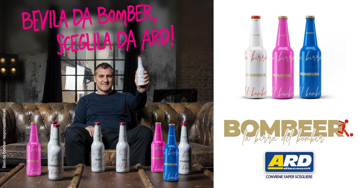 La birra del bomber Bobo Vieri da oggi in Sicilia.