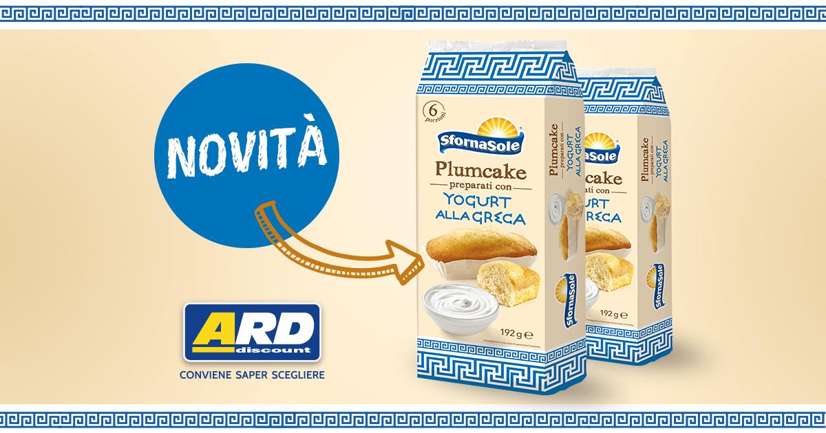 Plumcake con yogurt alla greca. Eccoti la nostra ultima novità!
