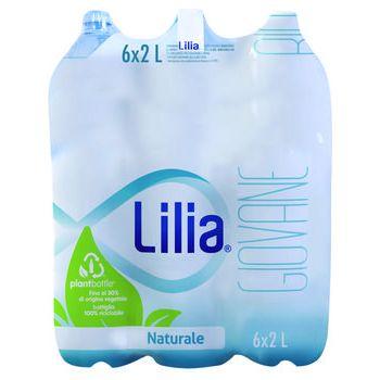 lilia acqua minerale naturale 2 lt x 6