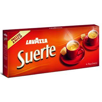 Lavazza Caffè suerte 250 gr x 4