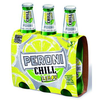 peroni chill lemon 33 cl x 3