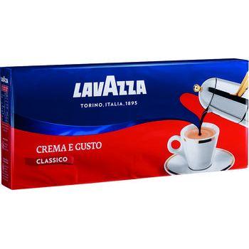 Lavazza caffè crema e gusto 250 gr x 4