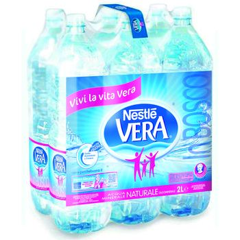 Vera acqua minerale naturale 2 lt X 6