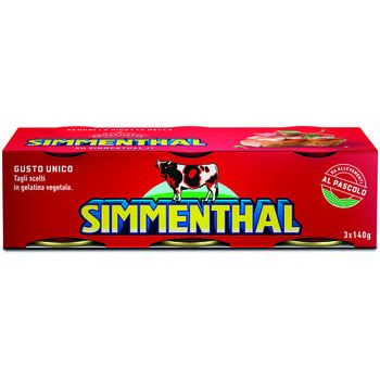 Simmenthal carne in gelatina 140 gr x 3