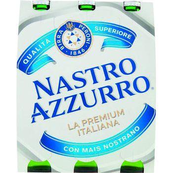 Nastro Azzurro Birra 33 cl x 3