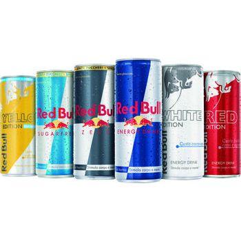 RED BULL energy drink Vari Tipi 250 ml