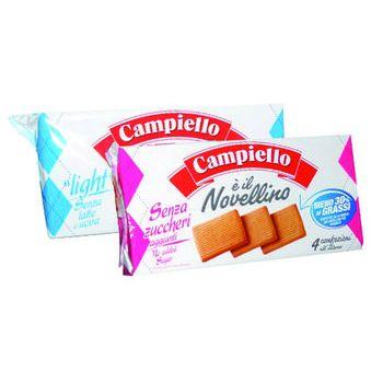 Campiello biscotto novellino light/ senza zucchero 350 gr