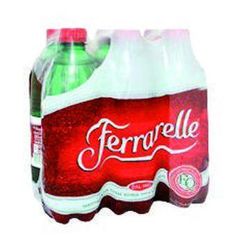 Ferrarelle Acqua minerale effervescente Naturale 50 cl x 6 bottiglie