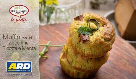 Muffins salati con zucchine ricotta e menta - ARD Discount