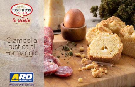 Ciambella rustica al formaggio - ARD Discount